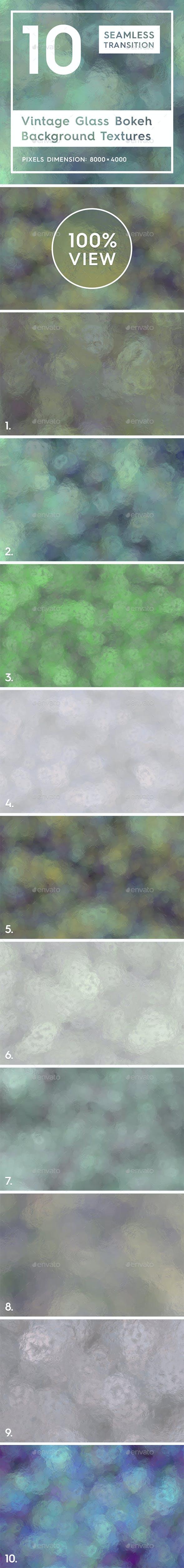 10 Vintage Glass Bokeh Backgrounds - 3DOcean Item for Sale