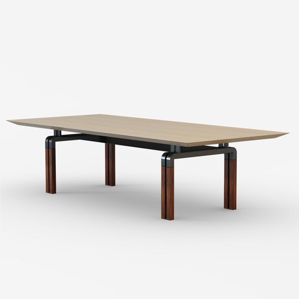 I4 Mariani Paso Doble table - 3DOcean Item for Sale
