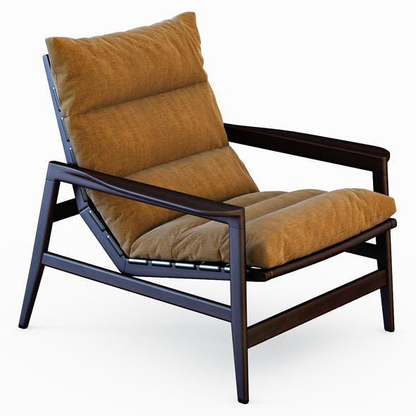 Ipanema armchair - 3DOcean Item for Sale