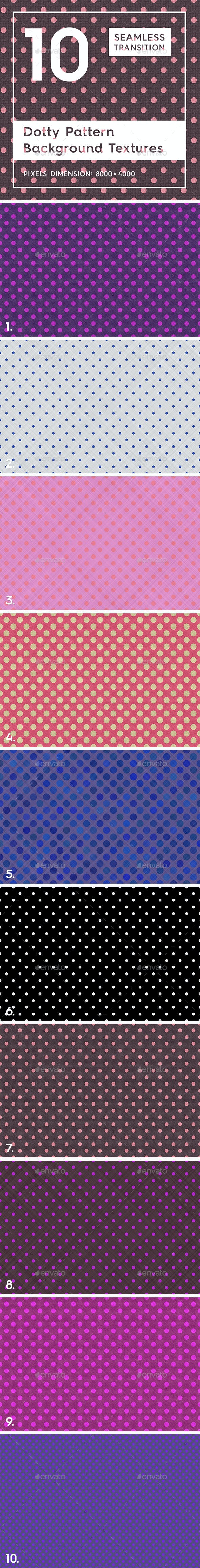 10 Dotty Pattern Background Texture - 3DOcean Item for Sale