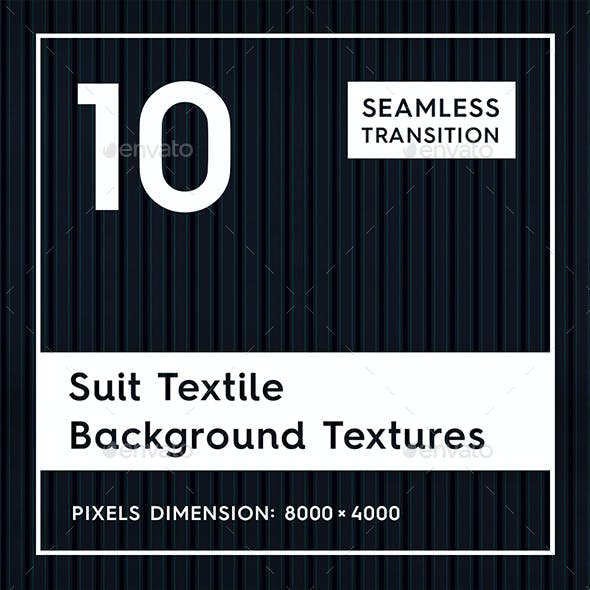 10 Suit Textile Background Textures