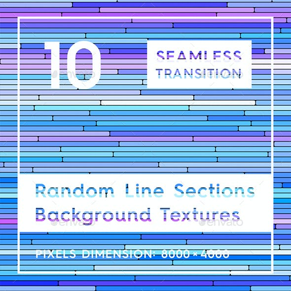 10 Random Line Sections Backgrounds