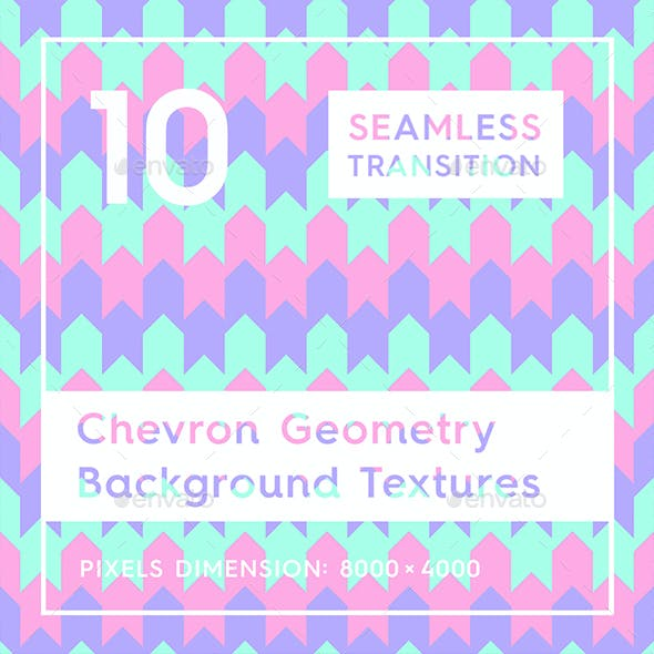10 Chevron Geometry Backgrounds