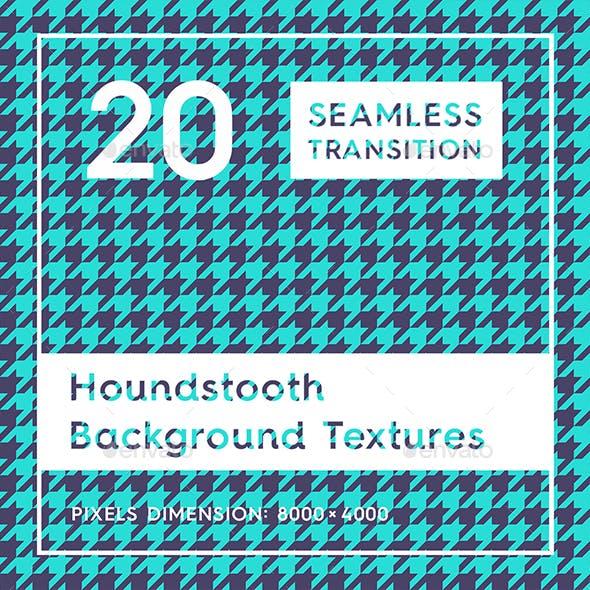 20 Houndstooth Background Textures