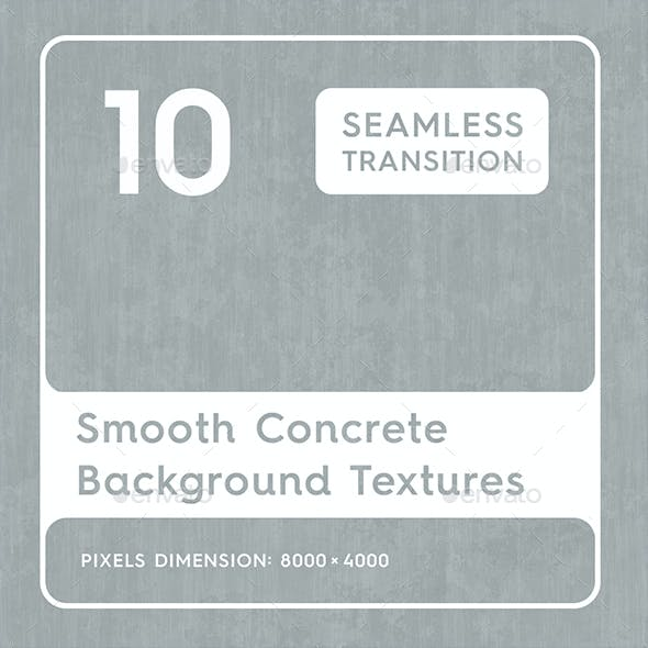 20 Smooth Concrete Background Textures