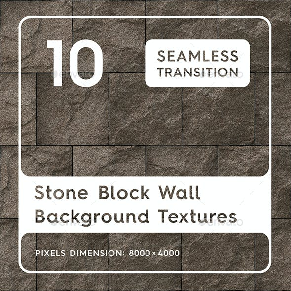 10 Stone Block Wall Textures