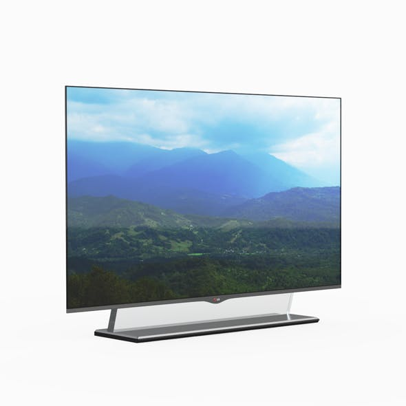 Lg Oled Tv Rollout - 3DOcean Item for Sale
