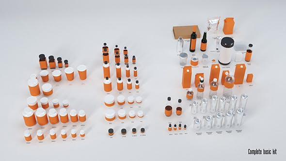 Introductory Kit for Presentation of Products - 3DOcean Item for Sale