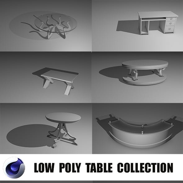Low Poly Table Collection