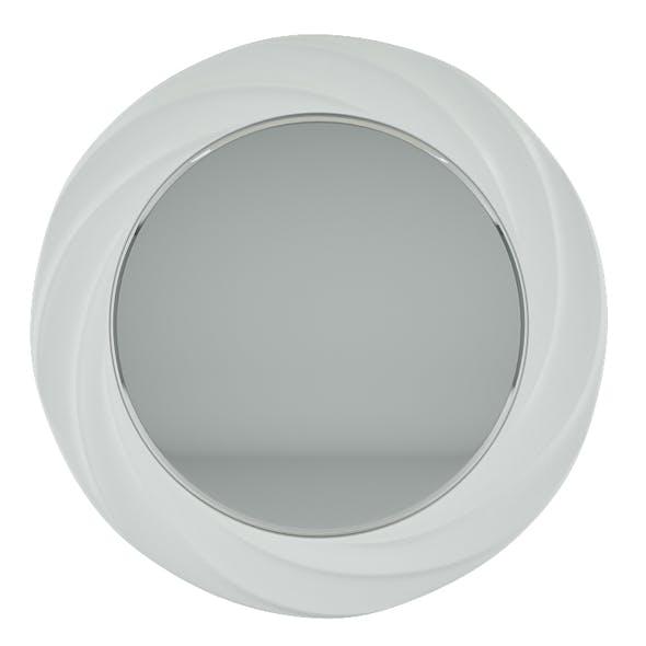Mirror Round White - 3DOcean Item for Sale