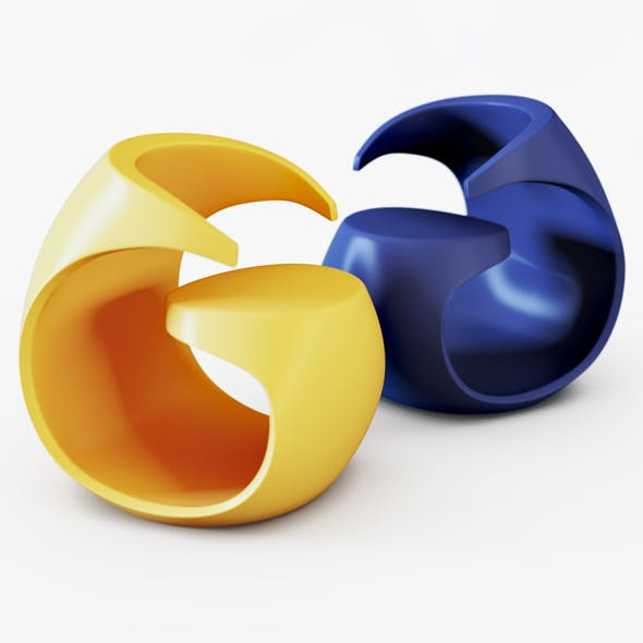 Chair Maurizio Di Marzio Missix - 3DOcean Item for Sale