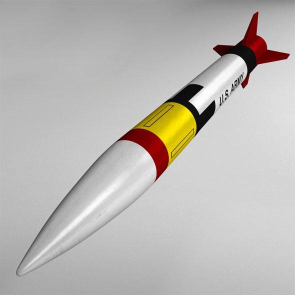 Patriot missile mim-104 high detail - 3DOcean Item for Sale