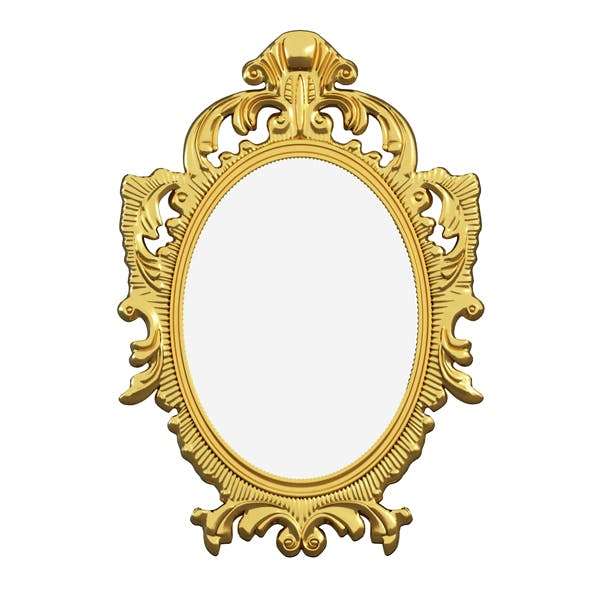 Mirror Gold classic - 3DOcean Item for Sale