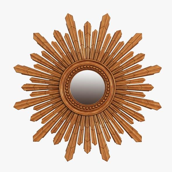 Mirror New Solar Gold