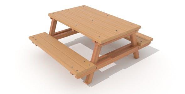 Park Bench - 3DOcean Item for Sale