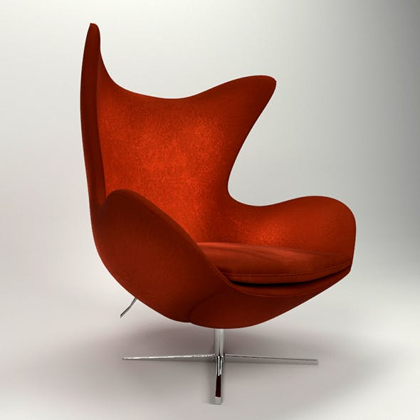 Egg chair - 3DOcean Item for Sale