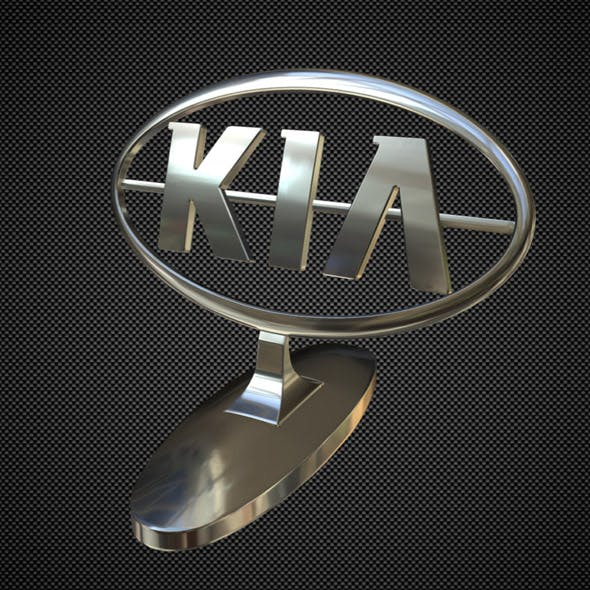 kia hood ornament