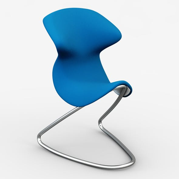 OYO Cantilever chair - 3DOcean Item for Sale