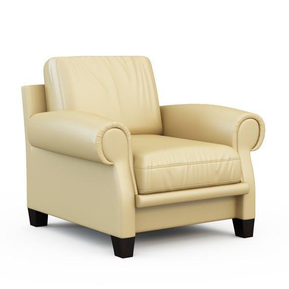 Austen Armchair - 3DOcean Item for Sale
