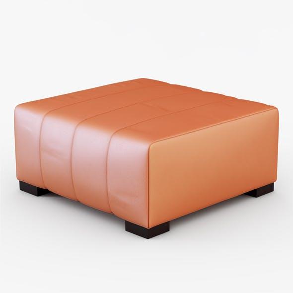 Pouf  PELLE PAPAYA - 3DOcean Item for Sale