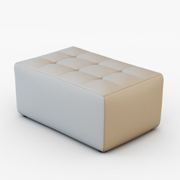 Pouf Cube Frajumar - 3DOcean Item for Sale