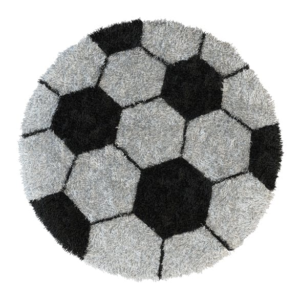 Round carpet Football