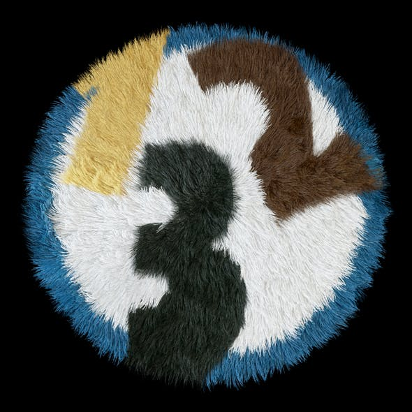 Round rug - 3DOcean Item for Sale