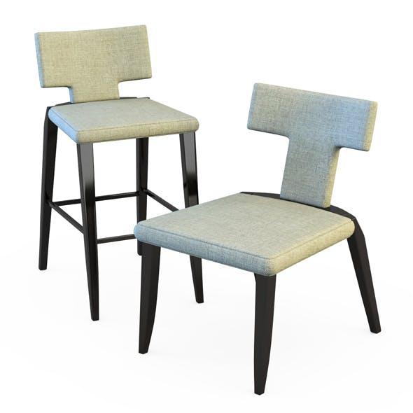 Chair Salsa - 3DOcean Item for Sale