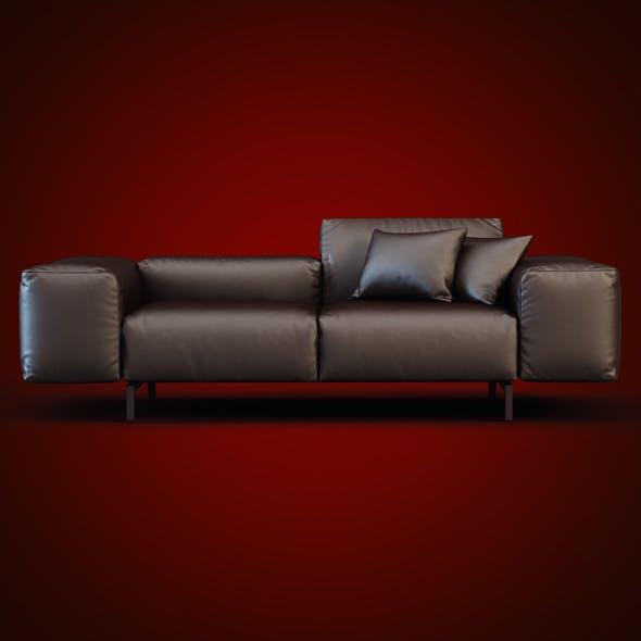 Scighera Sofa Cassina - 3DOcean Item for Sale