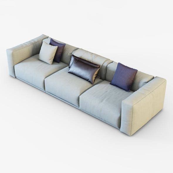Sofa Bolton - 3DOcean Item for Sale