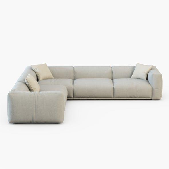 Sofa Bolton corner - 3DOcean Item for Sale