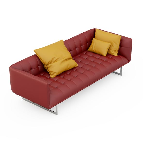 Sofa Edward - 3DOcean Item for Sale