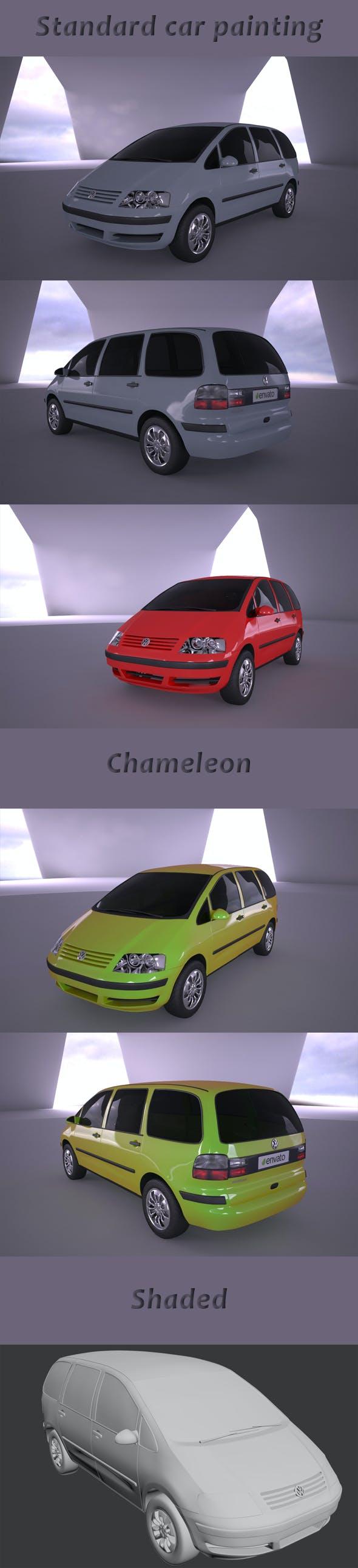 VW Sharan - 3DOcean Item for Sale