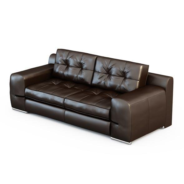 Sofa Fiori Bed - 3DOcean Item for Sale
