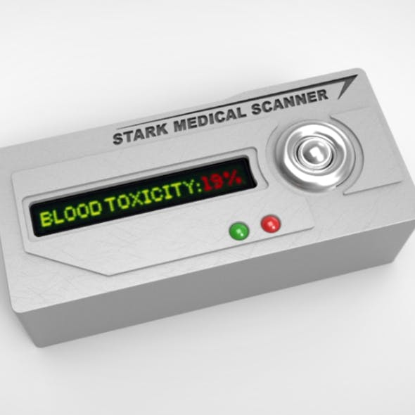 Iron Man 2 Stark Medical Scanner