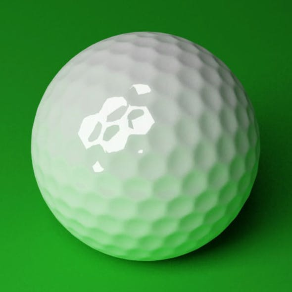 Golf Ball / 3DS MAX