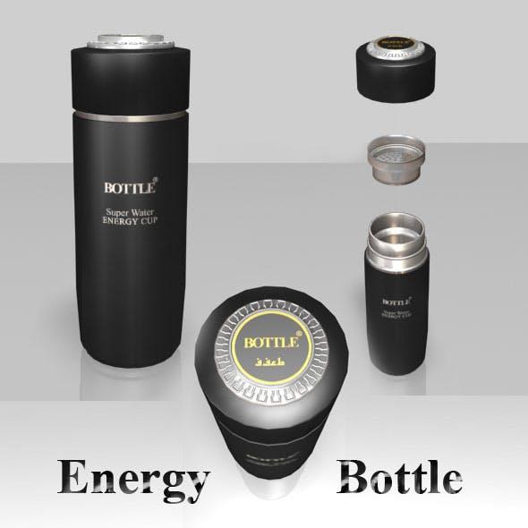 Energy Bottle     - 3DOcean Item for Sale