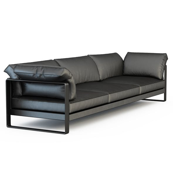 Sofa Phan Triple - 3DOcean Item for Sale