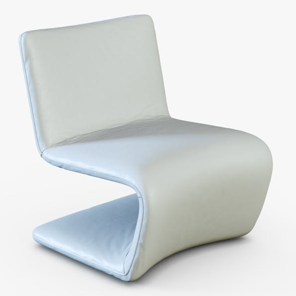 Venere lounge chair - 3DOcean Item for Sale