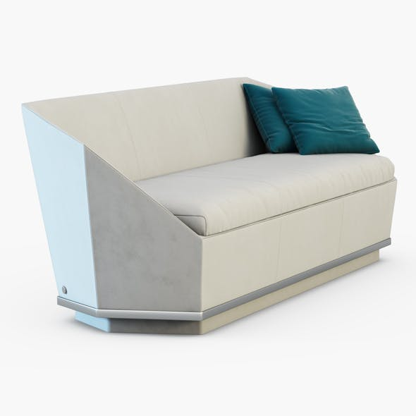 Yume Bench - 3DOcean Item for Sale