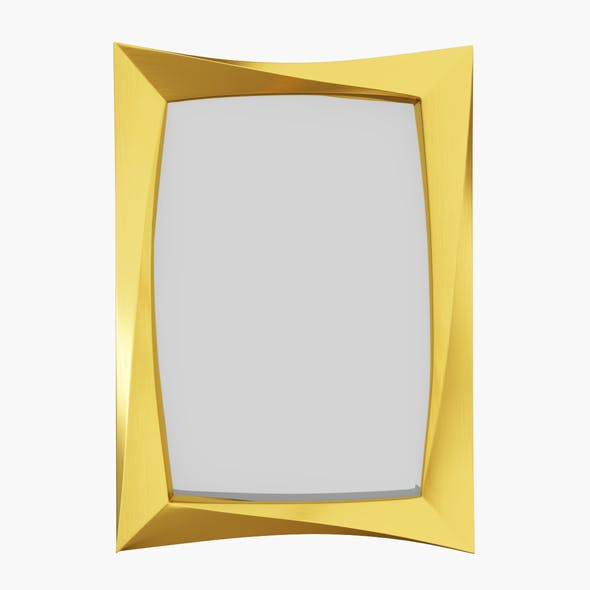 Wall Mirror - 3DOcean Item for Sale