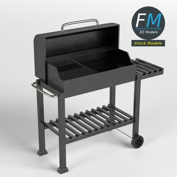 BBQ Barbecue - 3DOcean Item for Sale
