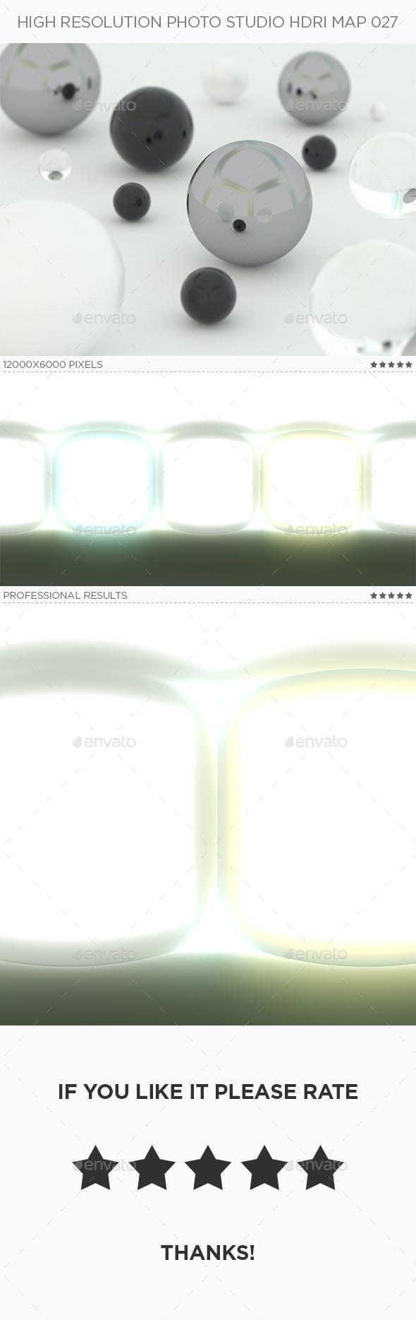 High Resolution Photo Studio HDRi Map 027 - 3DOcean Item for Sale