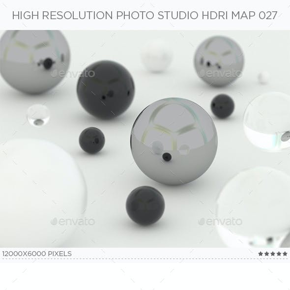 High Resolution Photo Studio HDRi Map 027