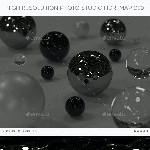 High Resolution Photo Studio HDRi Map 029