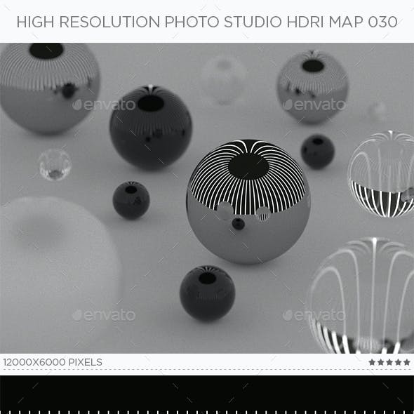 High Resolution Photo Studio HDRi Map 030