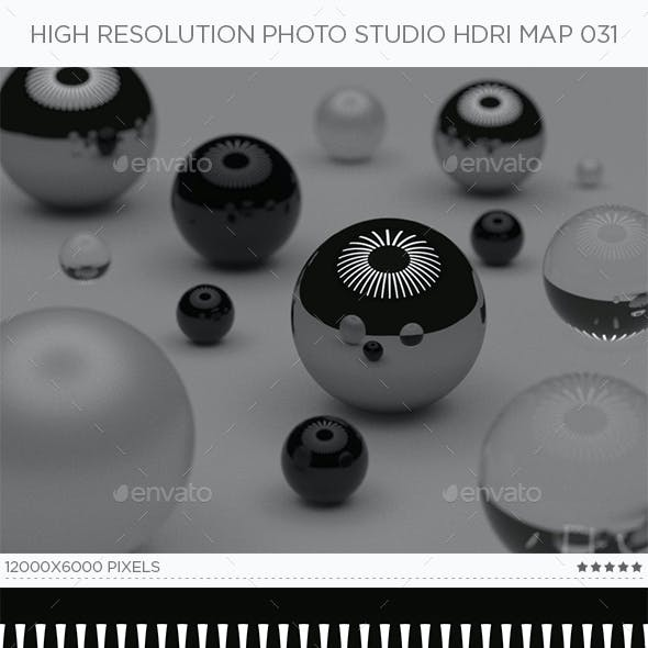 High Resolution Photo Studio HDRi Map 031