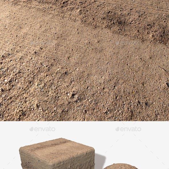 Desert Tracks Seamless Texture