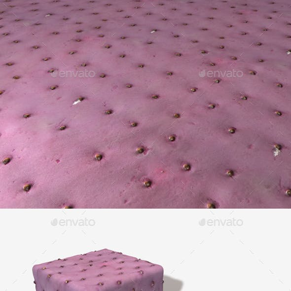 Purple Cactus Seamless Texture
