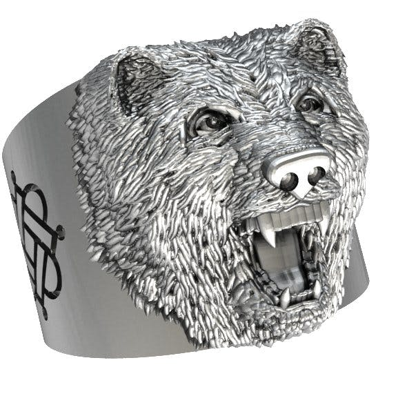 Bear Ring - 3DOcean Item for Sale